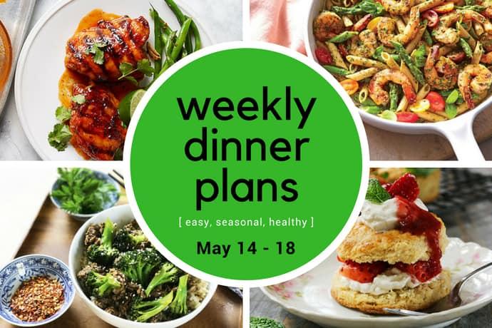 Weekly Dinner Meal Plan   Week 20 - 31 Daily