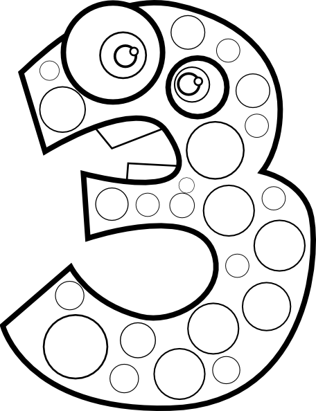 Math Coloring Pages 3 Coloring Pages To Print