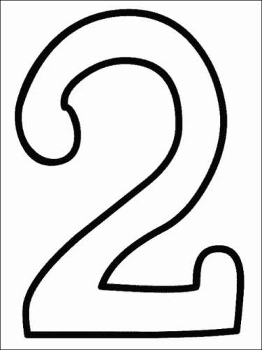 number coloring pages 0 number coloring pages 1
