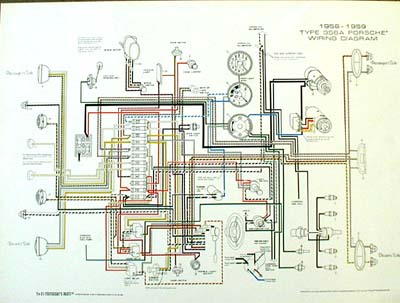 Porsche 356b Wiring Diagram Electronic Schematics collections