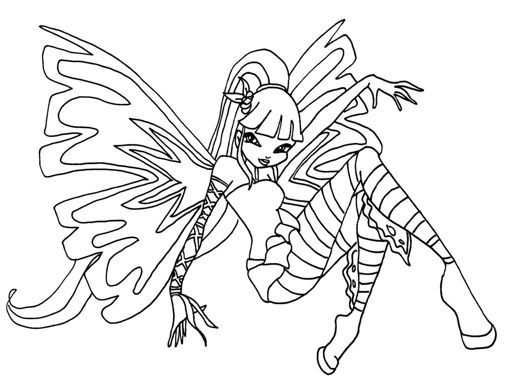 The Winx Club Coloring Pages Erieairfair