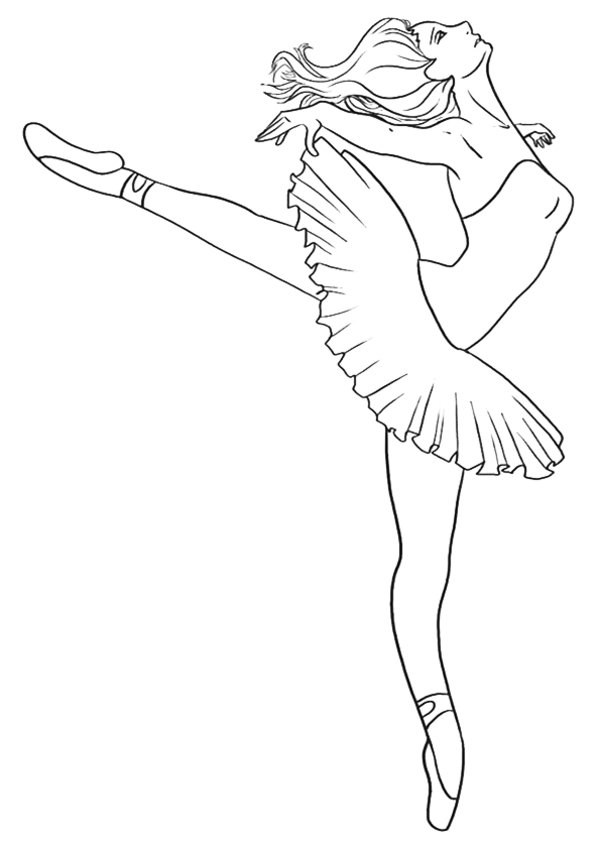 Ballerina Coloring Pages 360ColoringPages