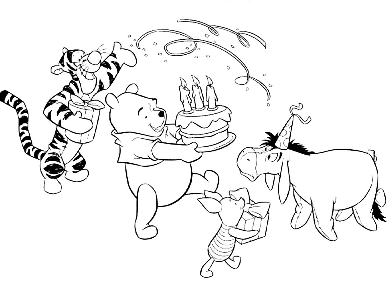 Happy Birthday Coloring Pages 360coloringpages SaveEnlarge