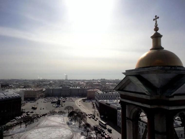 Vista de São Petesburgo