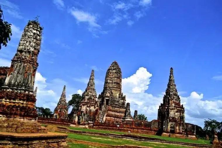 Templos en Tailandia Ayutthaia