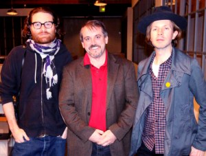 Left to Right - Chris Milk, Michael Kintner and BECK