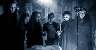 Light Sail VR's Matthew Celia on set with Paranormal actors.