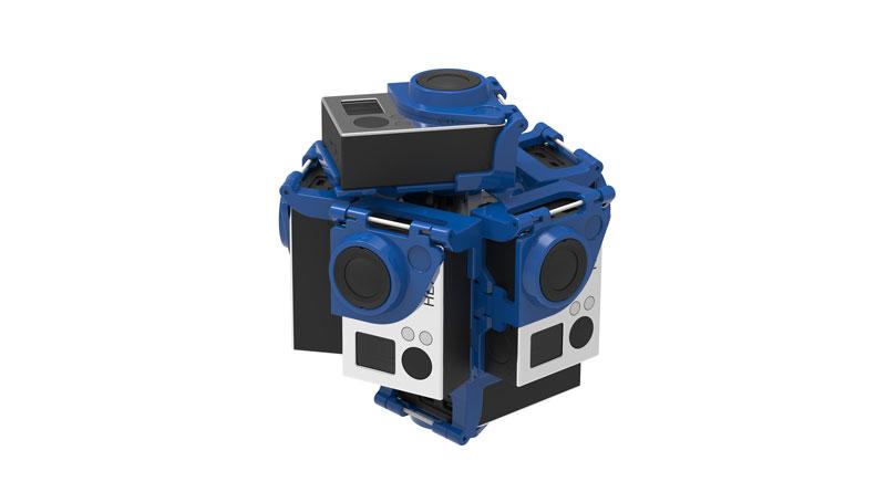 Pro7 v2 360 video rig