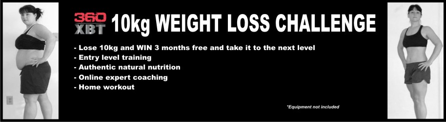 360XBT 10kg Weight Loss Challenge 360 Specialized Training