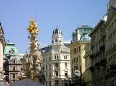 Wien, Pestsäule am Graben. ©akr