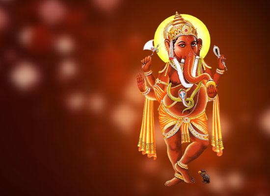 Lord Ganesha Wallpaper In Hd Hindi Invitation Card From 365greetings Com