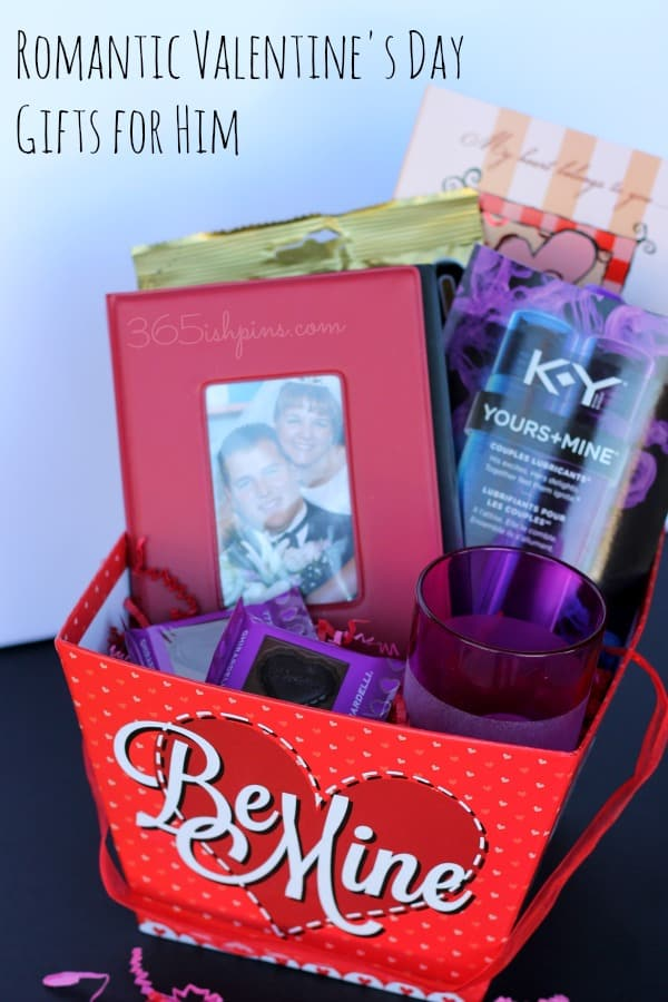 Gift baskets for him on valentines day : Romantic valentine s day gifts for him ish days of
