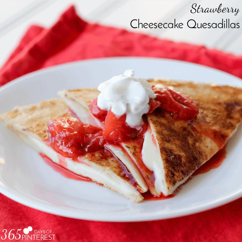 cheesecake quesadillas square