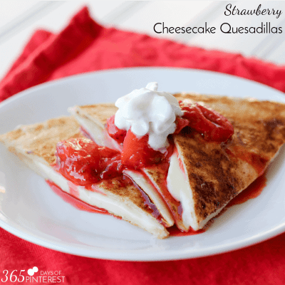 cheesecake quesadillas square