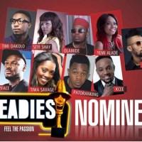 The Headies Awards 2014 Full Nominees List