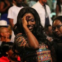 Annie Idibia Dances Shoki As She Cheers 2face @ Ghana Concert | Photos