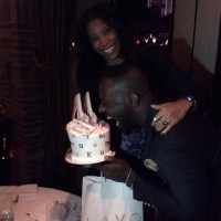 Jim Iyke Refuses To Wish Nadia Buari Happy Birthday, He Wished & Celebrated With Another Woman Instead - PHOTOS