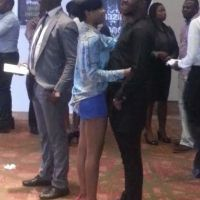 Mo'Cheddah and Boyfriend in Public display of Affection - PHOTOS