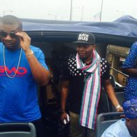 Olamide and Don Jazzy at APC Presidential Rally in Lagos | PHOTOS