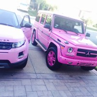 Dencia's Customized G-Wagon Finally Arrives, Looks So 'Hot' - Photos