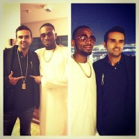 "D'banj Hangs Out With ""Africa's Youngest Billionaire"" Ashish J. Thakkar - PHOTO!"