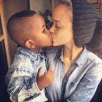 Ice Prince's Son Jamal Enjoys Passionate Kiss With His Aunt As He Turns A Year Older - PHOTOS!