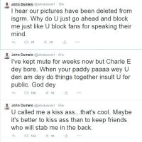 John Dumelo Throws Heavy Shots at Yvonne Nelson in Twitter Rant, Here's Why + Tweets