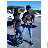 """Funke Akindele """"Jenifa"""" & AY Comedian Slay In Ripped Jeans As They Pose For The Camera"""