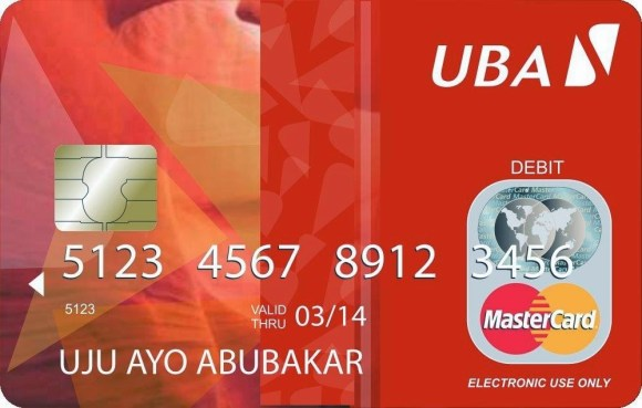UBA Lifts Ban On ATM Cards