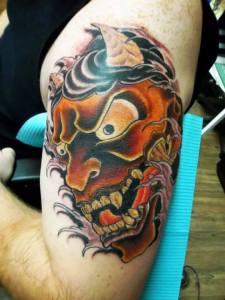 Japanese Demon   Joe   39th Street Tattoo Kansas City