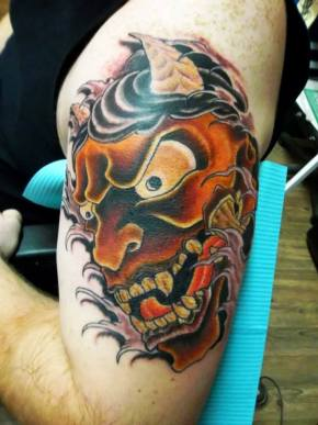 Japanese Demon | Joe | 39th Street Tattoo Kansas City