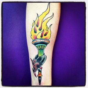 Torch | Aubrey | 39th Street Tattoo Kansas City