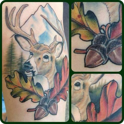 Buck Landscape | Aubrey | 39th Street Tattoo Kansas City