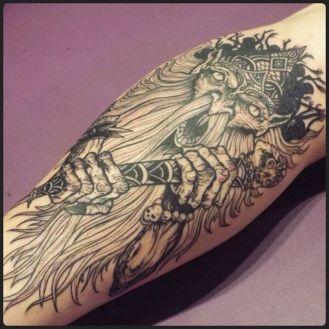 Gnome King | Aubrey | 39th Street Tattoo Kansas City