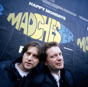 Shaun Ryder and Tony Wilson