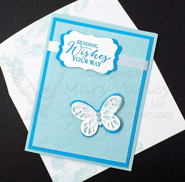 Soft Sky Butterfly Wishes-Visit http://www.3amstamper.com