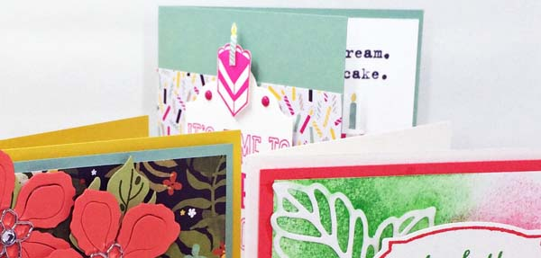 Trendy Cards for Any Occasion Peek - Visit http://www.3amstamper.com