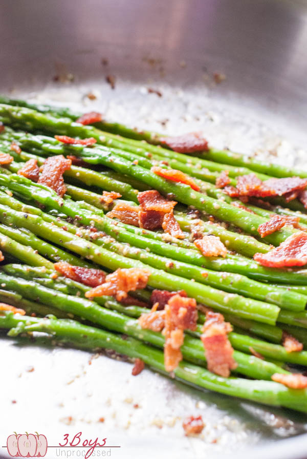 Bacon and Mustard Asparagus - 3BoysUnprocessed