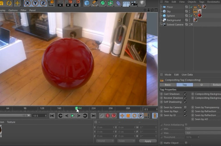 Getting Started With Motion Tracking in C4D