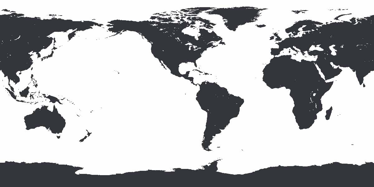 The Antarctic Projection a Penguin\u0027s World Map - 3Develop image blog - Black And Grey World Map