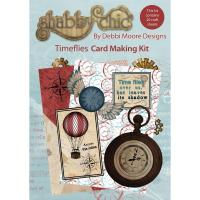 Time Flies - Shabby Chic Card Making Kit - Debbi Moore Design