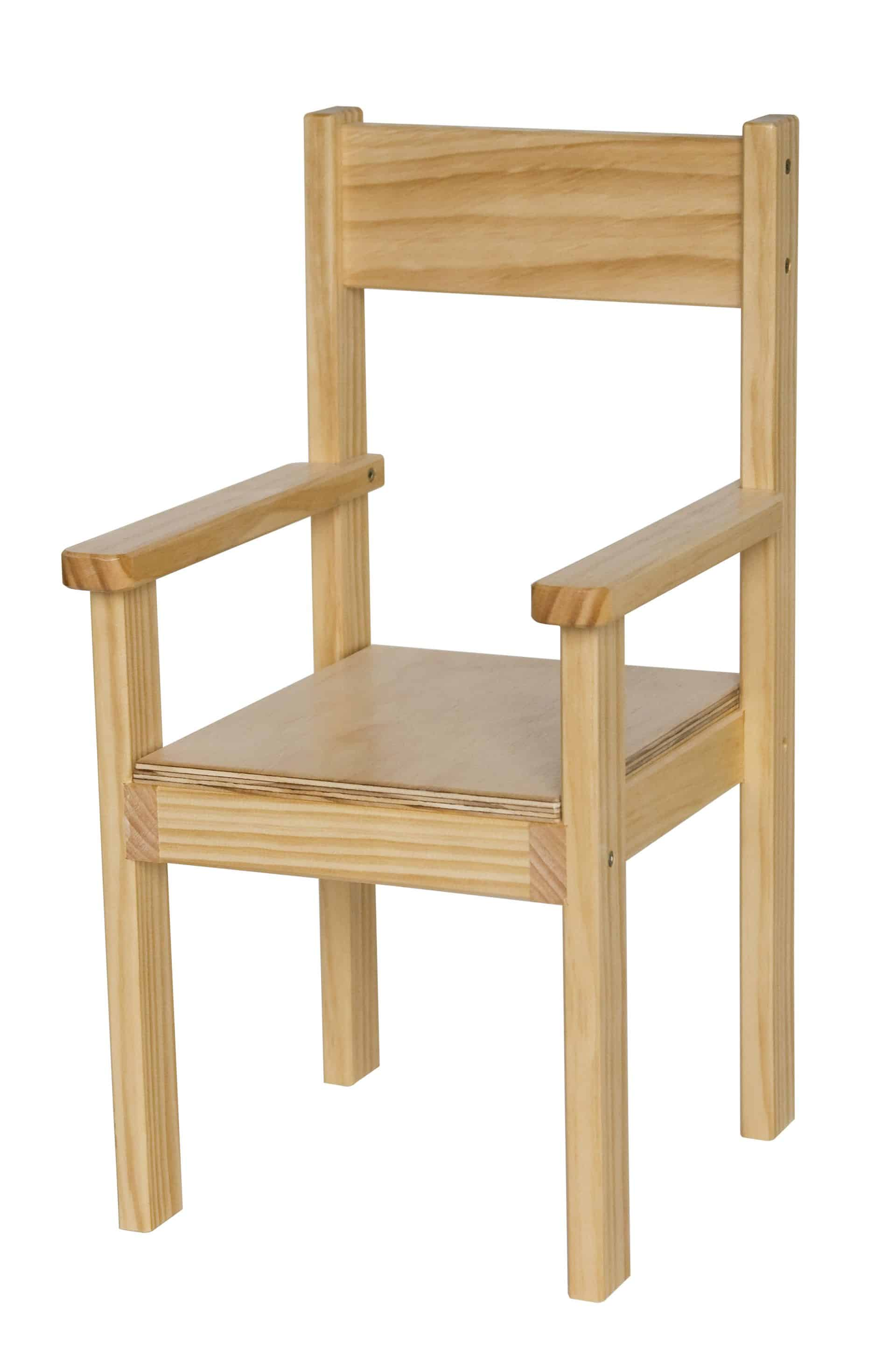 Su185 Toddler Chair With Arms 3d Products