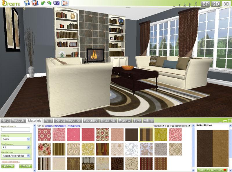 Free 3D Room Planner - 3Dream Basic Account Details - 3Dreamnet - design bedroom online
