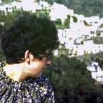 Sheila in Italy in 1972