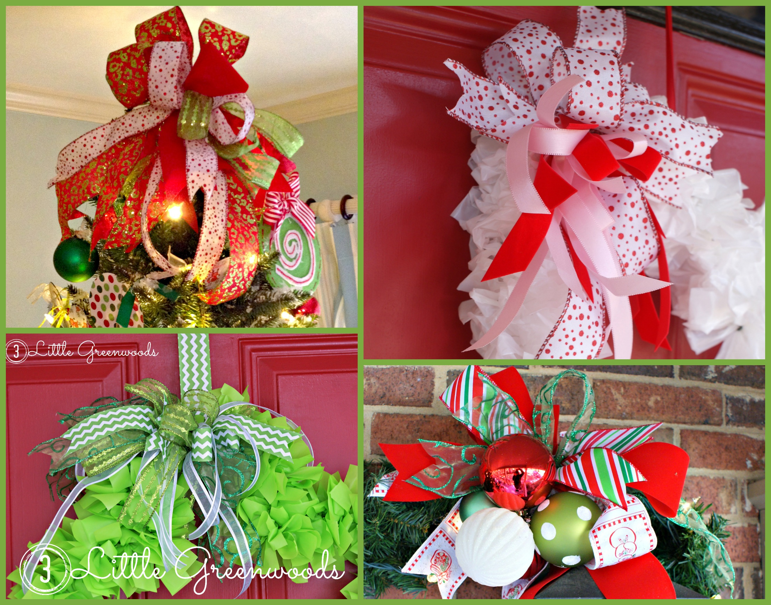 Fullsize Of How To Make Christmas Bows