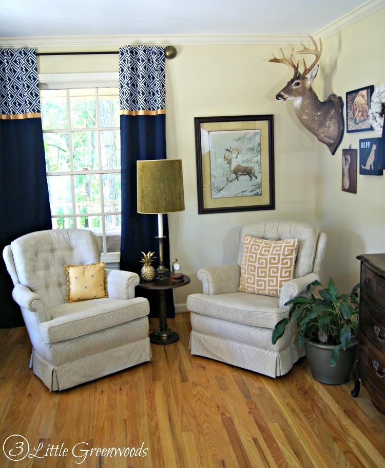 A Southern Gentlemanu0027s Home Office ~ Home Office Decorating Ideas - home office ideas on a budget
