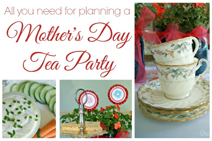 Plan a Mothers Day Tea Party - 3 Little Greenwoods