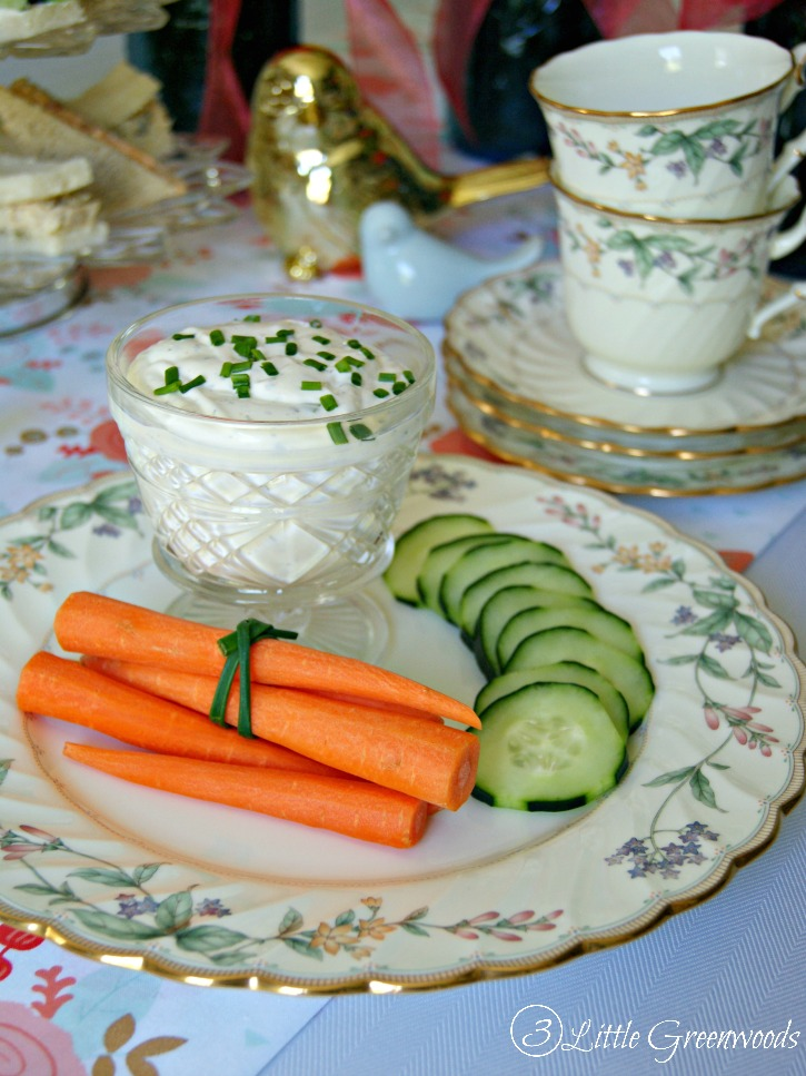 Tea Party Menu for a Mother\u0027s Day Luncheon