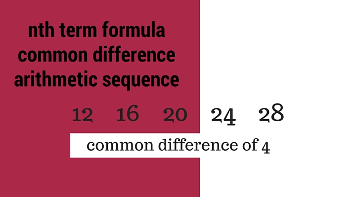 Maths Wrap - How to work with an arithmetic sequence