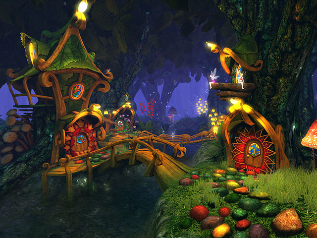 3d Sky Wallpapers Free Download Fantasy 3d Screensavers Fairy Forest A Magical Fairy